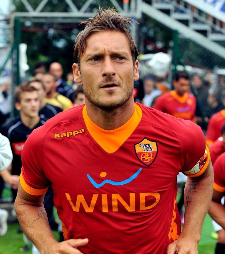 Francesco Totti #Legend #Captain #ASRoma #SerieA #Calcio #Totti #10