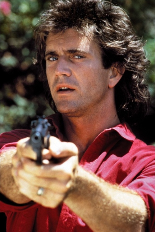 Mel Gibson Martin Riggs Lethal weapon flicks (1987-1998) I would like to see Mel work with Harrison Ford and the rest of the cast for Expendables 3. Gibson was considered to play John McClane in Die hard as well as Harrison Ford, Arnold Schwarzenegger, Sylvester Stallone,etc before Bruce Willis got the part.