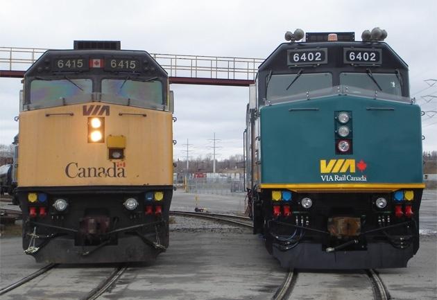 F40 Locomotive Overhaul Image Gallery
