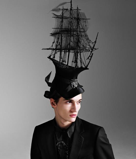 avant-garde fashion / via dazed  confused, may 2009