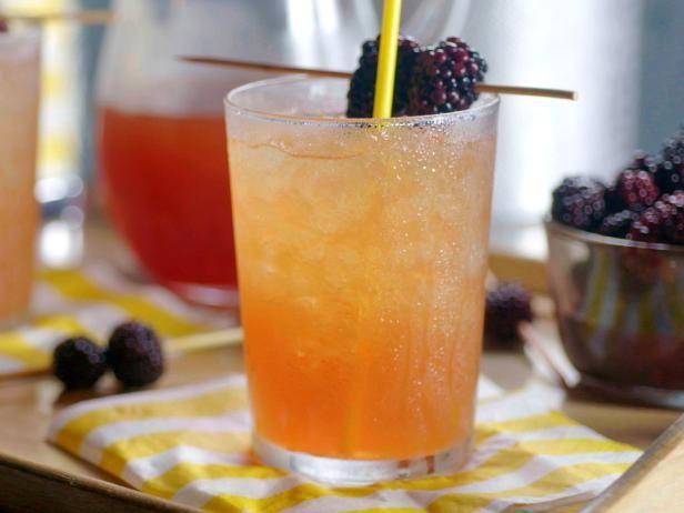 Pickled Blackberry Cocktail