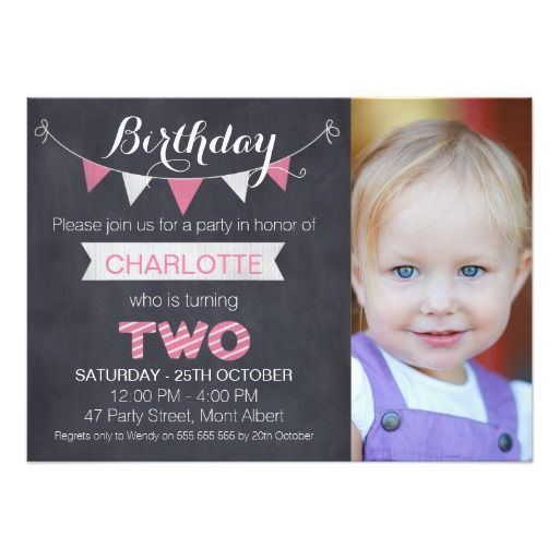 181 best 2nd birthday invitations images on pinterest | 2nd, Birthday invitations