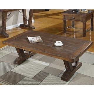 Shop for Castlegate Rustic Cocktail Table. Get free shipping at Overstock.com - Your Online Furniture Outlet Store! Get 5% in rewards with Club O! - 17481568