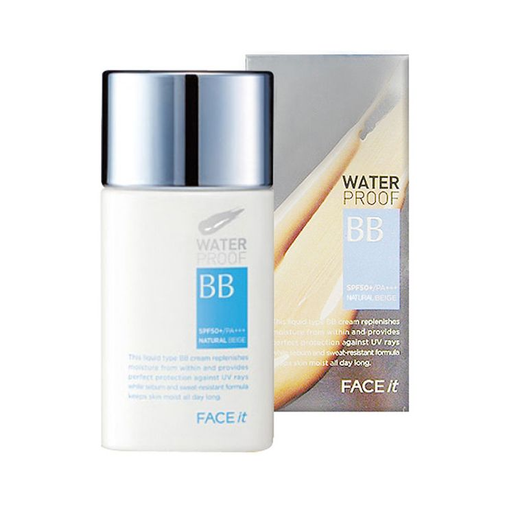 The face shop Face It Waterproof BB Cream SPF50+ PA+++ 50ml #01 Bright Beige #Thefaceshop