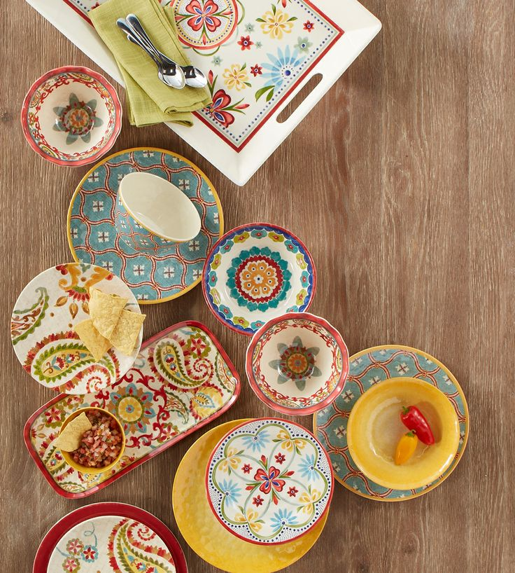 Melamine Dishes By Better Homes U0026 Gardens.