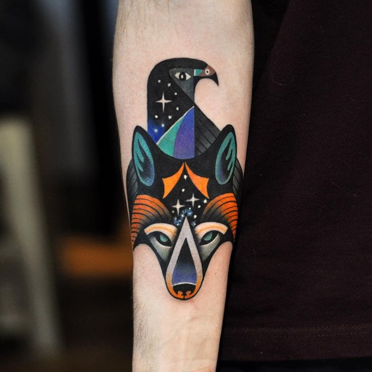 Starfox inspired tattoo. Merci Marc-Antoine! Done with @eternalink ------------------------------------------- **I don't answer emails sent via BigCartel** For booking  thedavidcote@gmail.com (Make sure to include name, city, idea, placement, size and budget)  TOUR DATES:  MONTREAL:  @imperialtattooconnexion from February to May  MOSCOW: ★ Moscow Tattoo Convention • May 27 - 29★ #thedavidcote #davidcote http://thedavidcote.bigcartel.com