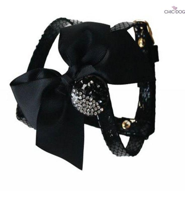 Happy New Year #dog #harness - matched with Happy New Year Leash   Pettorina abbinata al collare Happy New Year #Chic4Dog