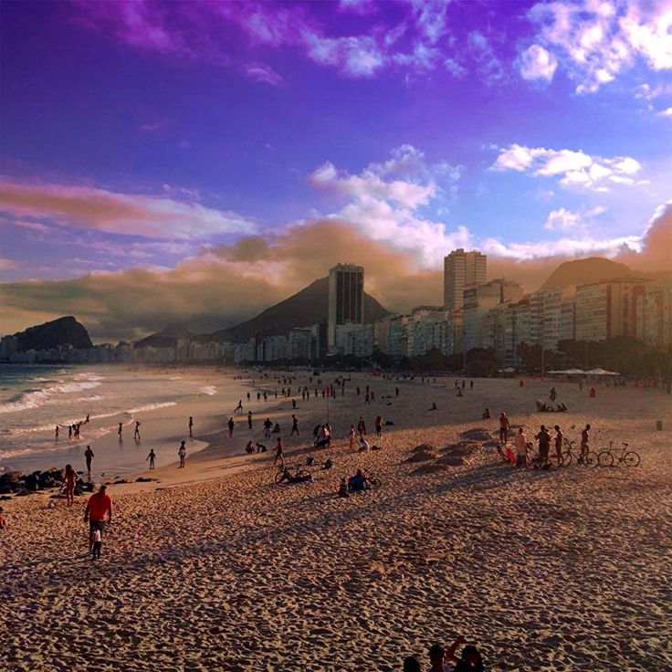 Leme, Rio de Janeiro, Brasil, @Ricardo Varella