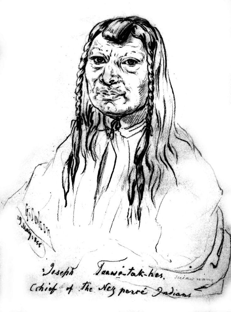 Vecchio Giuseppe, Nez Percé