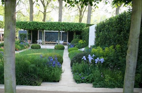 The Telegraph Garden. RHS Chelsea Flower Show 2014. Click to read article and to see plants list used.