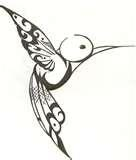 The hummingbird is a symbolic bird and one of the most common symbolism is the ability to overcome hard times or difficult challenges. The hummingbird can represent someone that has been through a lot in their life and they continued on. Many people can relate to this and the hummingbird has became a symbol of the strong influence to rise above trouble and hardship.