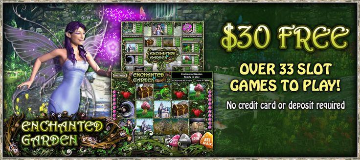 $30 Free - Play Enchanted Garden Slots - BingoLiner