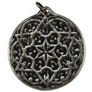 """Seal of Solomon Health and Prosperity amulet The Seal of Solomon Health and Prosperity has been created to aid you in invoke energies for good health, good luck, and prosperity in all things. Made in USA. Has cord. Pewter. 3/4""""  https://shadowsofthemoon.net   #shadowsofthemoon #ilovemywitchyways #Book #witchy #Wicca #Wiccan #altar #witchcraft #shadowsofthemoondotnet #Pagan"""