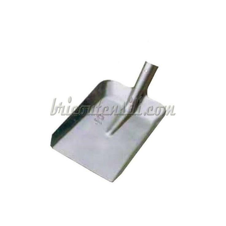 Badile Carbone n° 5   Badile Carbone Senza Manico in acciaio stampato, occhio passante