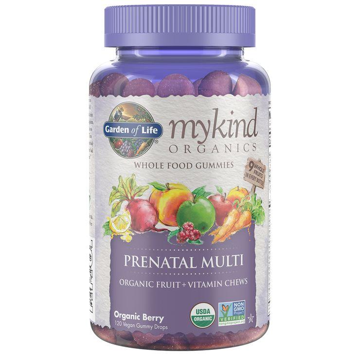 mykind Organics Prenatal Multi Gummies Organic Berry - 120 Vegan Gummy Drops