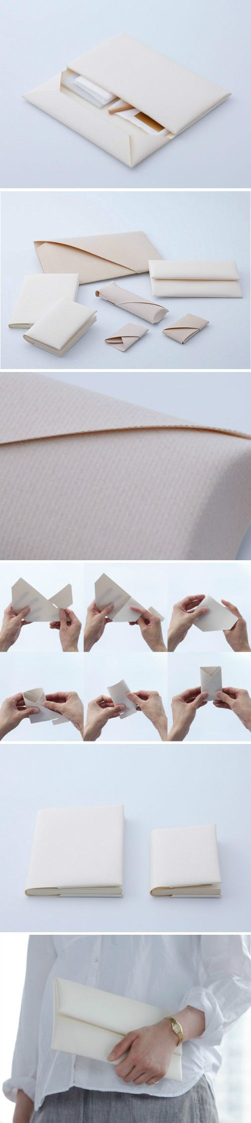Paper folded packaging