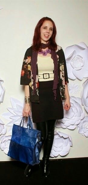 @WMCFashionWeek #toronto #fashionweek Day 3 outfit #thepurplescarf #melanieps#PsStyle