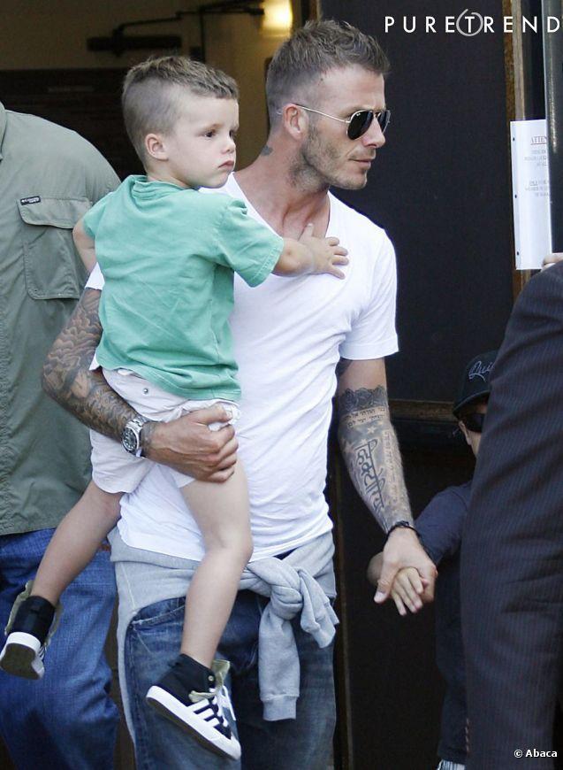 Romeo le fils de David Beckham