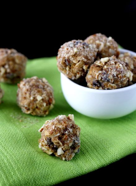 Peanut Butter Granola Bites - healthy, but still sweet and yummy