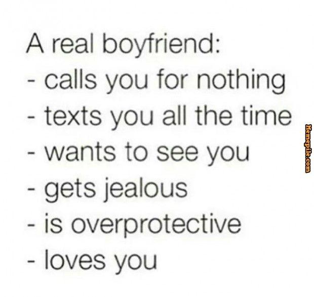 a real boyfriend meme