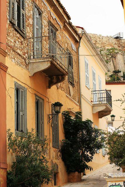 townhouses under the Acropolis, Athens