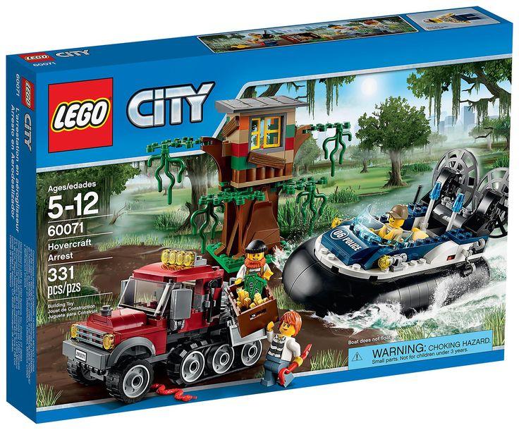 Comparez les prix du LEGO City 60071 L'arrestation en hydroglisseur avant de l'acheter ! Infos, description, images, vidéos et notices du LEGO 60071 L'arrestation en hydroglisseur sur Avenue de la brique