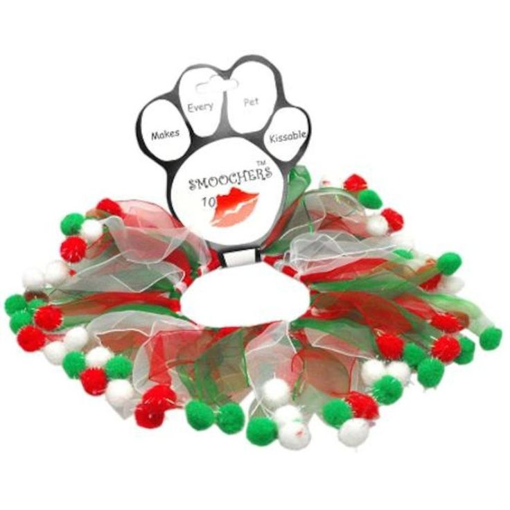 Mirage Pet Products Christmas Fuzzy Wuzzy Smoocher Medium . *** See this great image  : Dog Apparel and Accessories