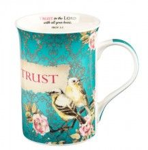 Trust in the Lord, Mug with Coaster
