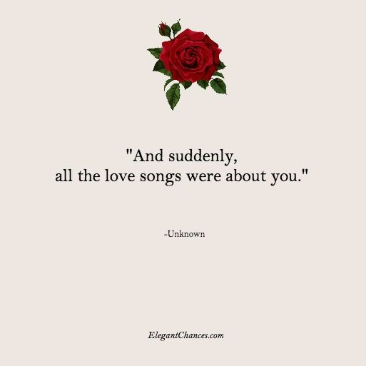 Love quotes that will make you go aww! - ELEGANTCHANCES.COM romance quotes that will make you think that they are so couple goals