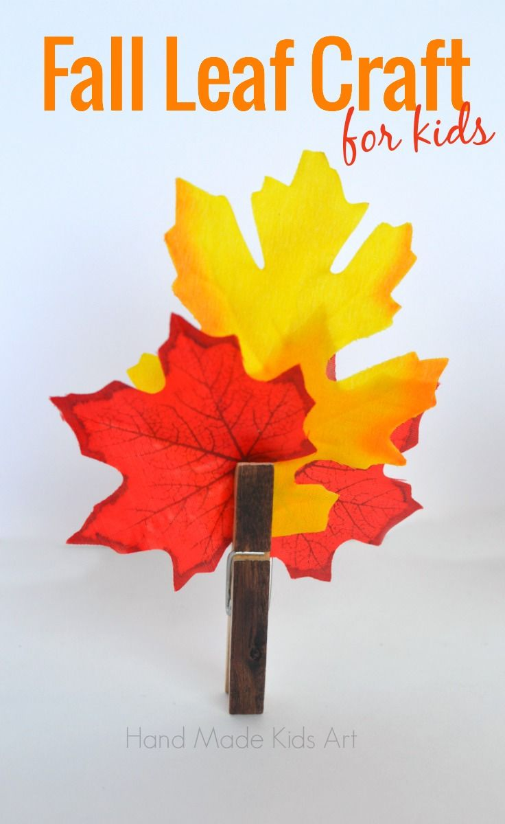Simple Fall Wreath: Easy Fall Crafts, Fall Crafts And Fall Crafts For Kids On
