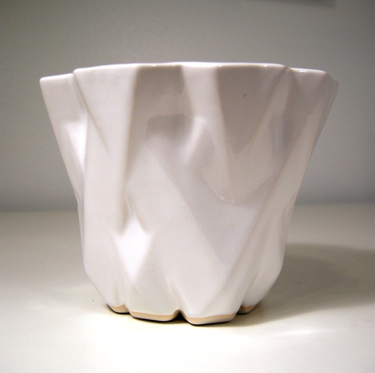 ... Digital Fabrics, Faceted Flower, Flower Pots, 3D Prints, Prints Crafts