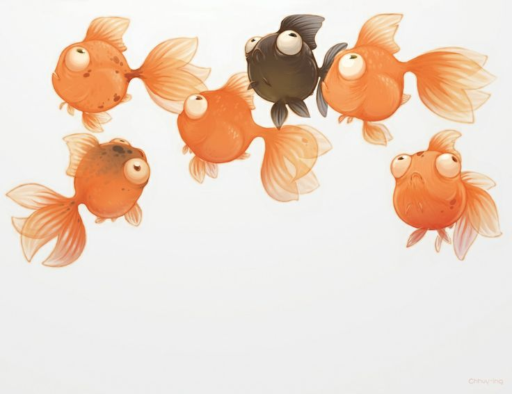 Goldfish by Chhuy-ing IA