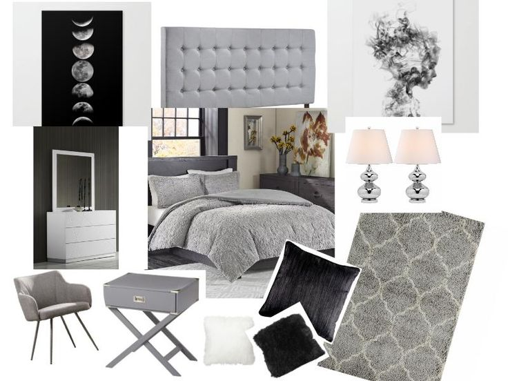 Gray Bedroom Mood : Images about interior mood board on