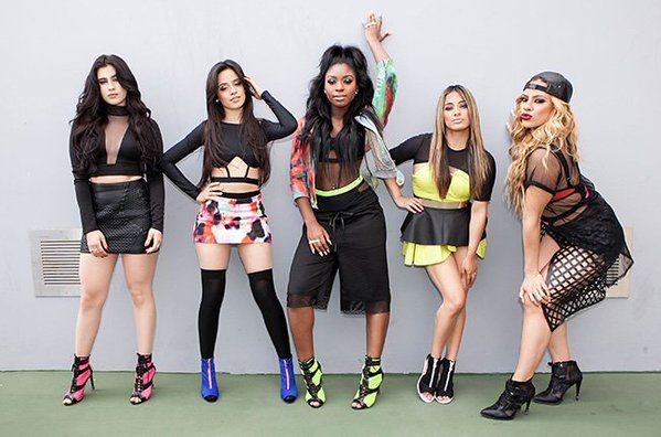 L to R: lauren, camila, normani, ally, dinah