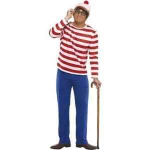 Fun Halloween Fancy Dress Idea for men! or couples! Where's Wally!