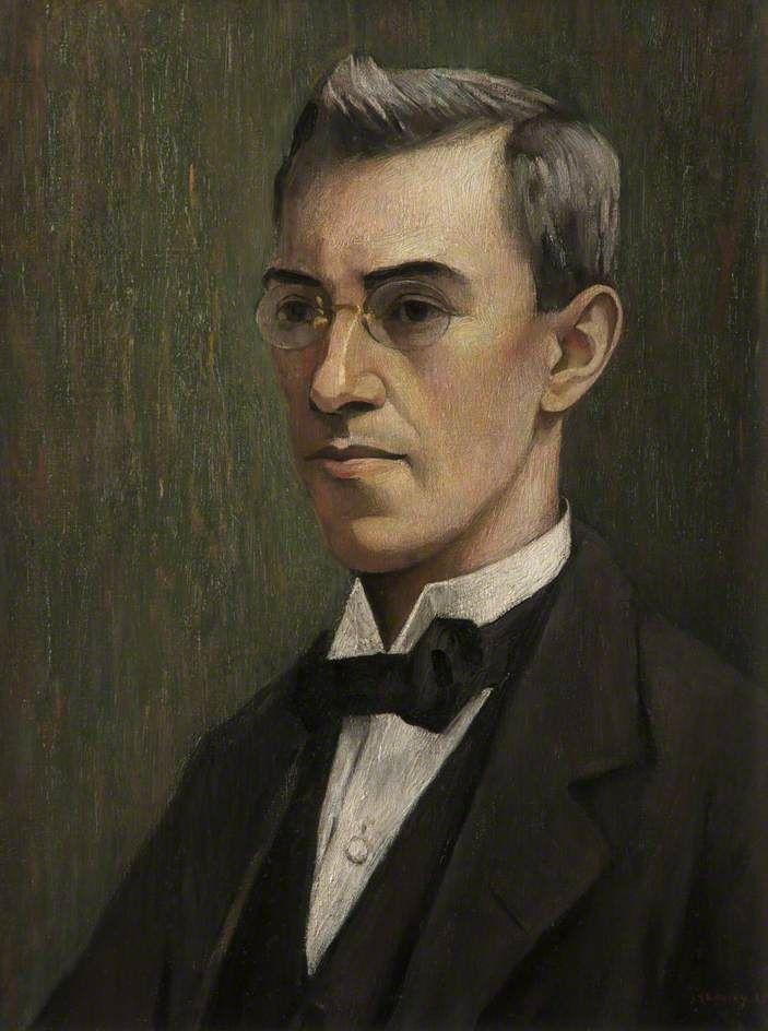 Frank Jopling Fletcher (1888–1955) By L.S.Lowry in 1919