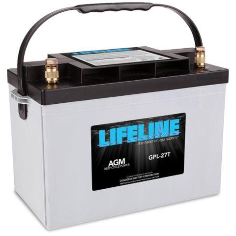 Lifeline AGM Deep-Cycle RV Battery, GPL-27T 12V 100AH - Campervan HQ