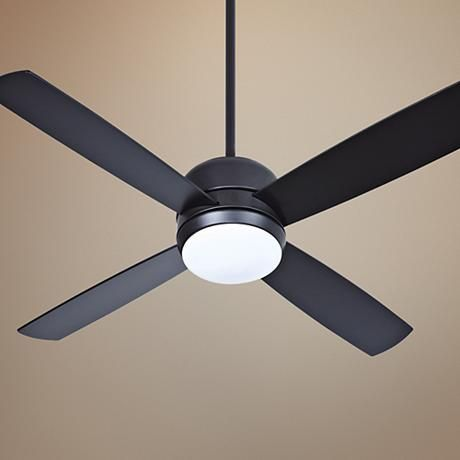 "44"" Craftmade Montreal Flat Black Ceiling Fan"