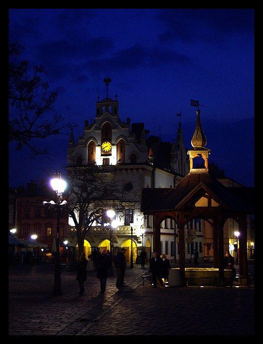 Rzeszów at night