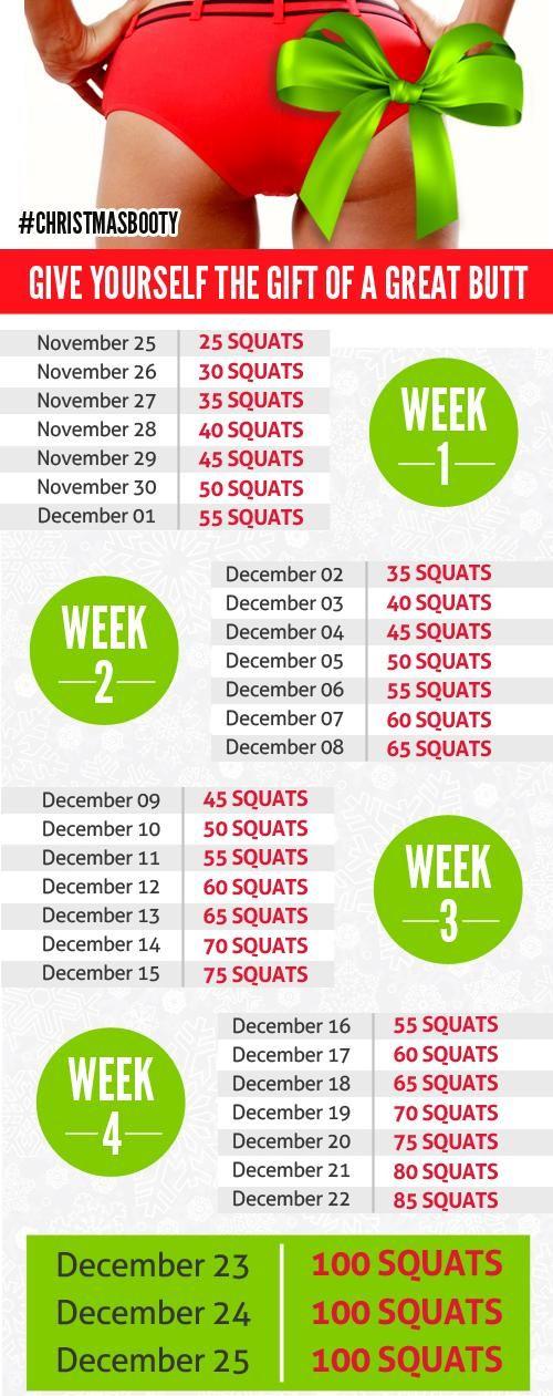 Love Squat Workout Challenges