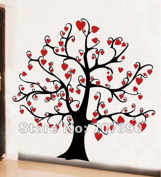 Google Image Result for http://i00.i.aliimg.com/wsphoto/v0/563644676/New-wall-sticker-home-decor-mural-ART-decal-wall-decor-Vinyl-PVC-romantic-tree-110cm-110cm.jpg