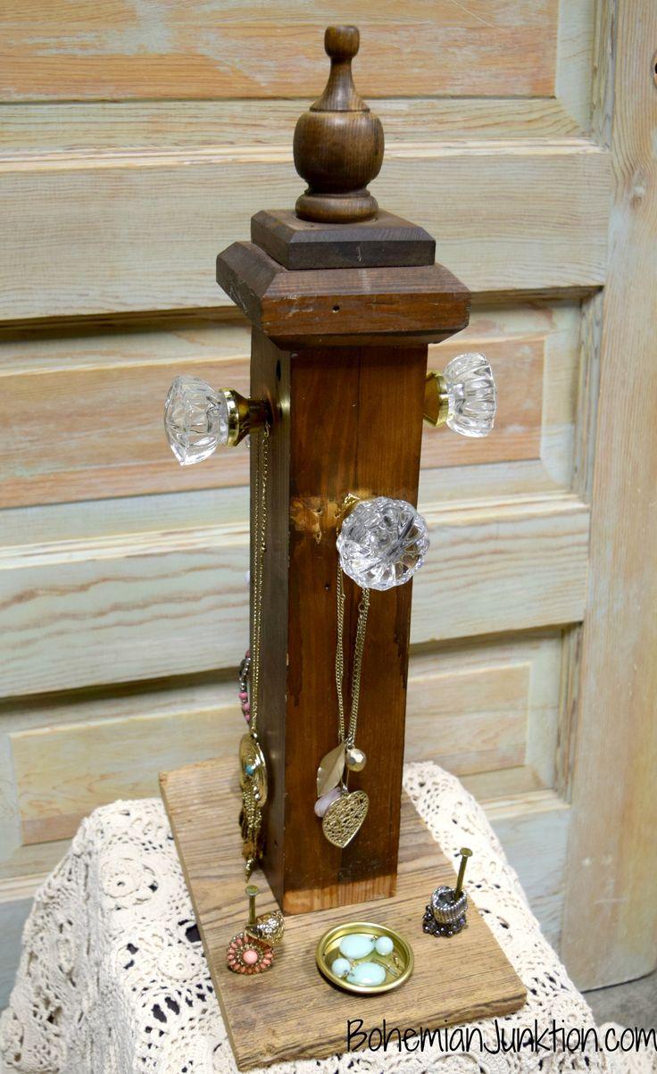 Repurposed Jewelry Holder