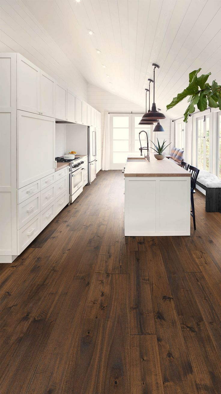 To Make The Most Of These Bright And White Wardrobes We Have Combined A In 2020 Hardwood Floors Dark Warm Wood Flooring Hardwood Floor Colors