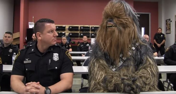 FOX NEWS: Star Wars' Chewbacca gets leading role in Texas police recruiting video