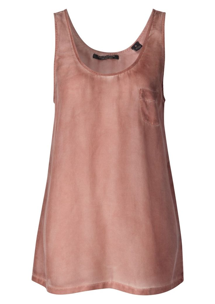 Shop the Maison Scotch Silk Tank - Rust online at The Dressing Room. Get 10% OFF your first order + FREE UK delivery!
