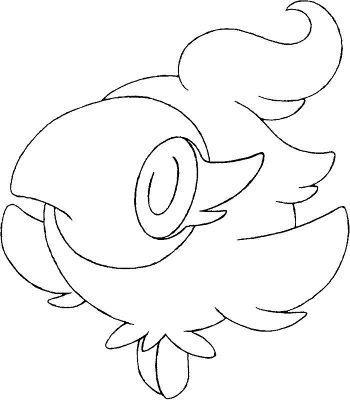 pokemon coloring pages flabebe flower - photo#42