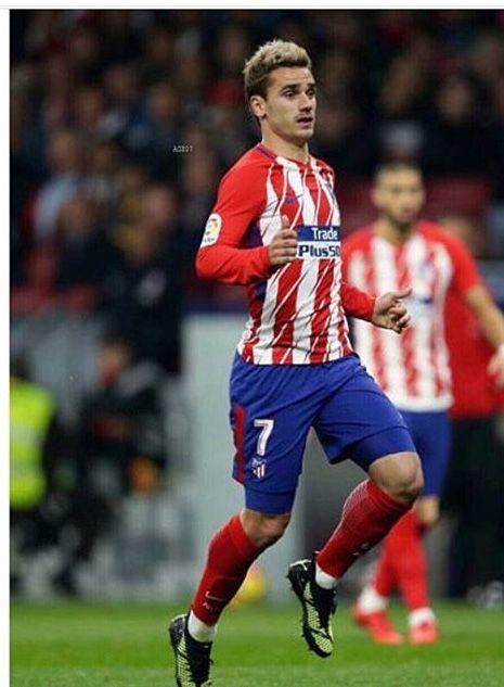 Durant le match Atlético et Real 18.11.17