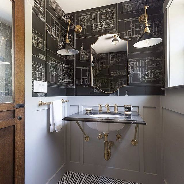Amazing Gallery Of Interior Design And Decorating Ideas Of Nautical  Blueprint Wallpaper In Bedrooms, Dens/libraries/offices, Bathrooms, Boyu0027s  Rooms By Elite ...