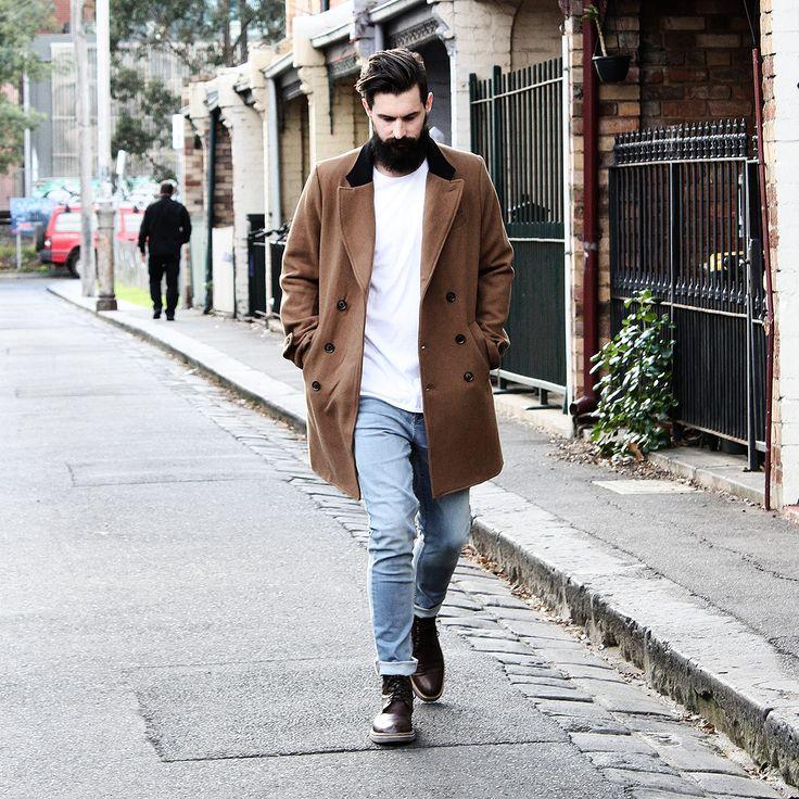 Autonomy clothing Mens street blog Melbourne menswear  Mens coats W15 Australian Fashion
