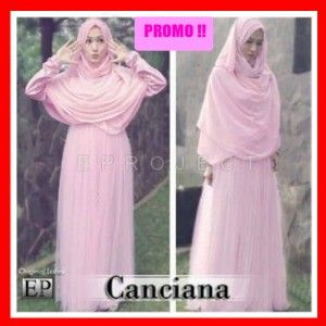 Gamis Syari Bergo canciana by Ep project